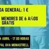Entradas para el FC Jumilla – Betis Deportivo a 1 euro
