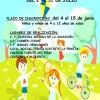 El próximo 4 de junio se abre el plazo de inscripciones para las Ludotecas de Verano