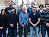 La candidatura encabezada por José Cutillas venció en el proceso electoral a la presidencia de la Cofradía 'Beso de Judas'