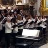 La Coral Jumillana Canticorum participó en Valencia de un magnífico concierto junto al Coro Cantoría Hippnensis