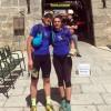 Miguel Angel González y Victoria García participaron en la I 'Trail Tietar desafio Galayos' en la Sierra de Gredos