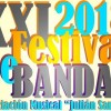 Llega la XXI edición del Festival de Bandas de la Asociación Musical Julián Santos con la intención de disfrutar de la buena música