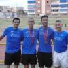 Medallas para Juan Carlos Guardiola, Alex Barrón, Edu Minchala y Sergio Dominguez en el Campeonato Regional Absoluto