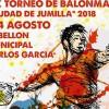 Los días 3 y 4 de agosto se celebra el XX Torneo de Balonmano Ciudad de Jumilla