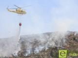 Alrededor de 10 hectáreas quemadas en el Cerro del Oro