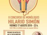 Presentado el II Concurso de Monólogos Hilario Simón