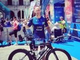 Gran actuación de Fran Guirao  que supera su marca personal en el Triathlon Vitoria-Gasteiz