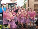 La Gran Cabalgata del Vino tiñe de morado las calles de Jumilla