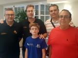 """Cinco ajedrecistas del Club Coimbra estuvieron presentes en el """"Torneo Internacional Cartagineses y Romanos sub-2200"""" de Cartagena"""