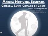 Llega la III Marcha Nocturna Solidaria de la Cofradía Santo Costado en favor de Cáritas