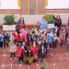 La Alcaldesa recibe en el Ayuntamiento a los alumnas/os de cuatro años del Colegio Nuestra Señora de la Asunción