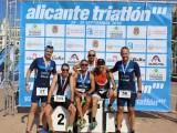 Seis jumillanos en el 'Alicante Triatlón' con muy buenas sensaciones en meta