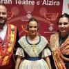 Los Vendimiadores Mayores representaron a la Fiesta de la Vendimia en el acto de Exaltación de la Fallera Mayor de Alzira