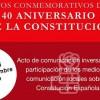 El PSOE de Jumilla organiza un acto abierto para conmemorar el 40 aniversario de la Constitución