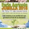 La Feria Agrícola 2018 reconocerá la labor educativa del CIFEA