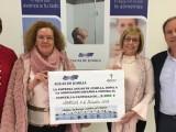 Aguas de Jumilla dona 2.000 euros a la Junta Local de la AECC