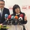 La Presidenta federal del PSOE Cristina Narbona visita Jumilla acompañada por el Secretario regional, Diego Conesa