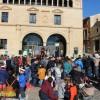 Cientos de niños disfrutaron de las campanadas infantiles en la Plaza de Arriba