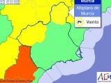 Continúa el aviso amarillo por fuertes vientos para hoy martes y para el miércoles