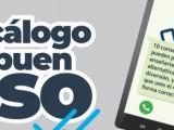 La Consejería de Salud edita un decálogo para concienciar a los más jóvenes sobre el buen uso del teléfono móvil