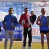 Victoria de Ángela Mateo, Mercedes Guardiola, Alejandro Pérez y José Luís Monreal en el Cross de Jumilla, quinta de las jornadas de la Liga Regional de Cross