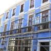 Ya han comenzado las obras de rehabilitación de la cubierta y entrada del Edificio Azul