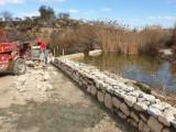La pasada semana comenzaron las obras de acondicionamiento del humedal del Charco del Zorro