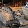 Ilesos los dos ocupantes de un vehículo protagonista de un accidente al chocar contra el muro de la Estación de autobuses. El conductor dio positivo en la prueba de alcoholemia