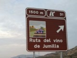 Instalada nueva señalización turística para potenciar la visibilidad de la ruta del vino de Jumilla y Bullas