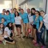 El Club Natación Jumilla pasa con nota el Campeonato Regional de los 1500 metros celebrado en casa