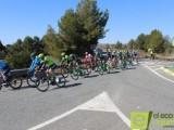 La Vuelta Ciclista a Murcia se deja ver por Jumilla