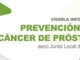 La Junta Local de la AECC organiza una charla informativa centrada en el Cáncer de Próstata