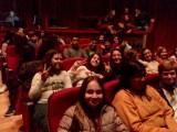 """Alumnos del IES Infanta Elena acuden al Teatro Vico a la representación de """"20.000 Leguas de viaje submarino"""" en francés"""