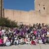 Cerca de 300 tamborileros se dieron cita en el Castillo para la III edición del Almuerzo Solidario