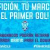El F.C. Jumilla quiere llenar el 'Uva Monastrell' frente al Sevilla Atlético con la campaña 'Afición tu marcas el primer gol'
