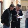 La alcaldesa y el concejal de Obras planifican junto a los pedáneos de La Alquería y La Fuente del Pino el Plan de Asfaltado previsto en el Presupuesto Municipal 2019