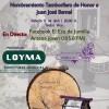 El Pregón del Tambor y Nombramiento del Tamborilero de Honor en directo desde El Eco de Jumilla y Antena Joven