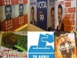 Anoche se dio inicio a la campaña electoral en Jumilla con la pegada de carteles
