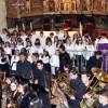 Más de 130 alumnos de Banda y Coro de la Escuela Municipal  y del Conservatorio Profesional de Música realizaron un concierto de Semana Santa