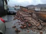 El temporal de viento en Jumilla causa varios daños materiales pero afortunadamente no personales