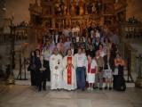 La orden Tercera Seglar de Jumilla asistió en la misa pro beatificación de la Reina Isabel I de Castilla