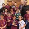 Importante representación con buenos resultados del Club Ajedrez Coimbra en el 'Torneo Familiar Sierra del Segura'
