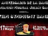 La Asociación Musical Julián Santos dedica el XXV aniversario del Concierto de la Bandera a las bandas sonoras de las mejores películas de la historia