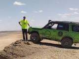 El piloto jumillano José Tomás participó en un duro entreno en el desierto de Marruecos