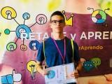El alumno del IES Arzobispo Lozano David Fernández se adjudica la segunda plaza de su categoría en el concurso 'Rétame y aprendo'