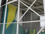 Finalizan las obras del rocódromo del Polideportivo La Hoya