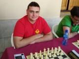 Alejandro Castellanos sigue luchando por revalidar el título de Campeón Regional Absoluto de ajedrez