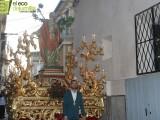 """La procesión de San Pedro ha finalizado con la entrega del I Denario de Plata a Pedro García y un concierto de la banda juvenil de la Asociación Musical """"Julian Santos"""""""