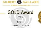 EVOL 2018 de la enóloga Elisa Martínez obtiene una Medalla de Oro en el International Challenge Gilbert & Gaillard
