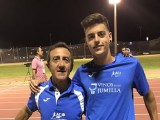 Sergio Domínguez se queda a las puerta de la marca mínima para el Campeonato de España Sub-20